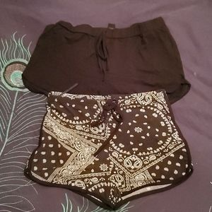 Shorts duo size medium